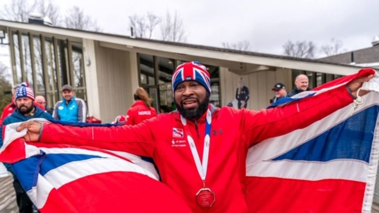 Britain's Corie Mapp is Britain's Bobsleigh success story [Photo Credit: Corie Mapp/Girts Chris]
