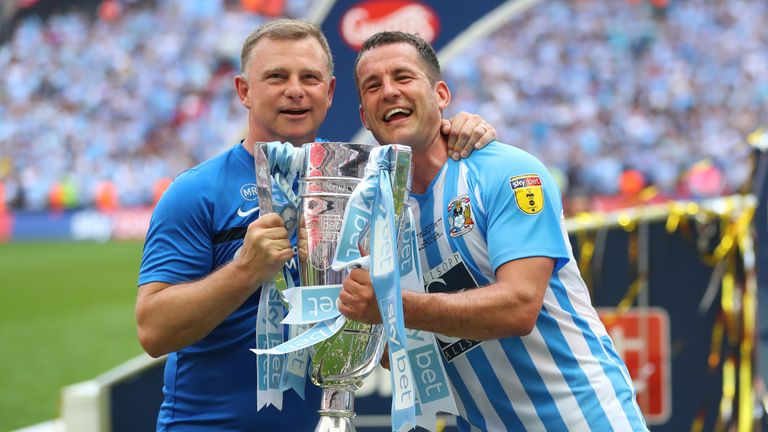 Coventry won the 2018 Sky Bet play-off final