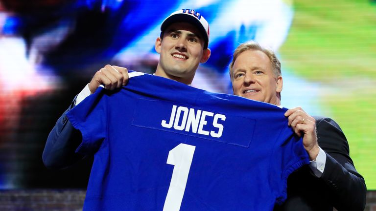 The New York Giants used the sixth overall pick on quarterback Daniel Jones. Did they draft him too early?