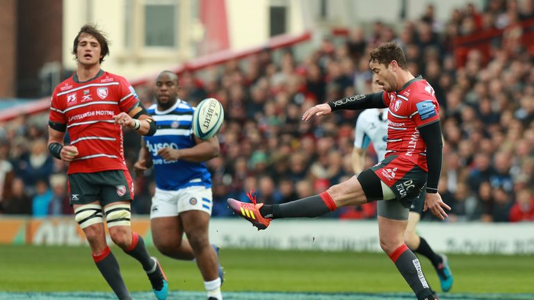 Danny Cipriani helped Gloucester fightback against Bath