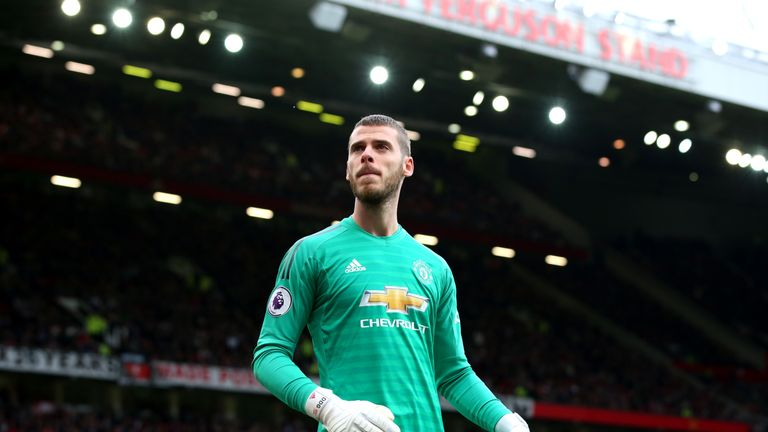 David de Gea is set to sign a new improved deal with United