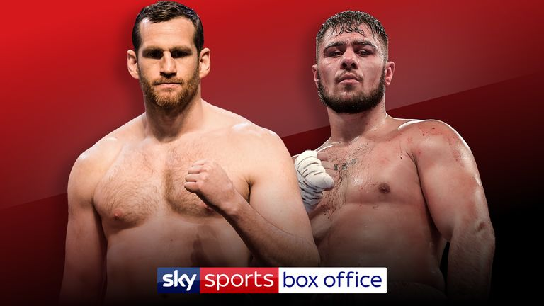 David Price's British battle with David Allen is on a packed bill at The O2