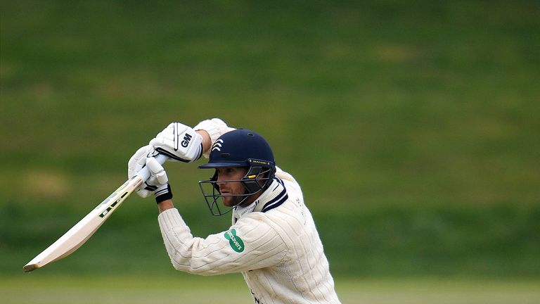 Dawid Malan is closing in on 1,000 runs for the County Championship season