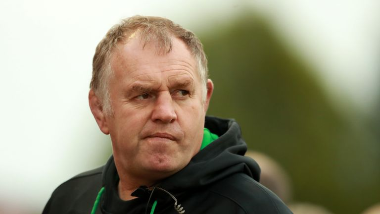 Dean Richards watched his side  suffer a 14th defeat of the campaign.
