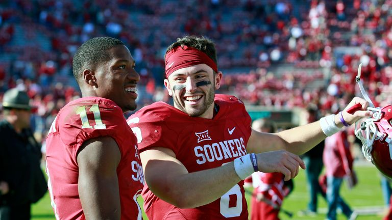 Wesbtrook played with Murray's quarterback predecessor at Oklahoma, Baker Mayfield