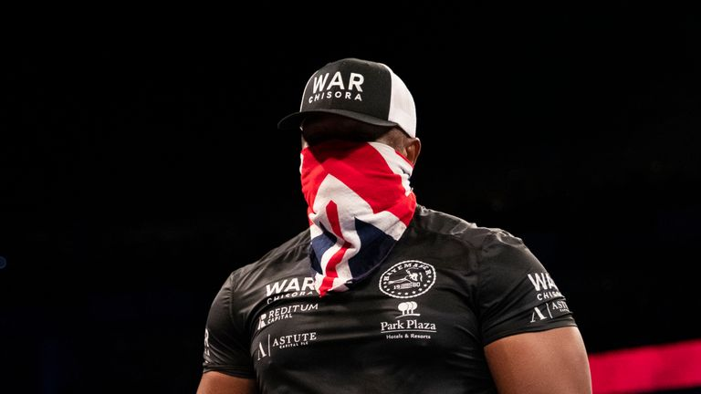 Derek Chisora claimed unanimous decision victory at The O2