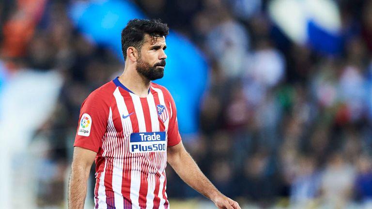 Diego Costa currently plays for La Liga side Atletico Madrid