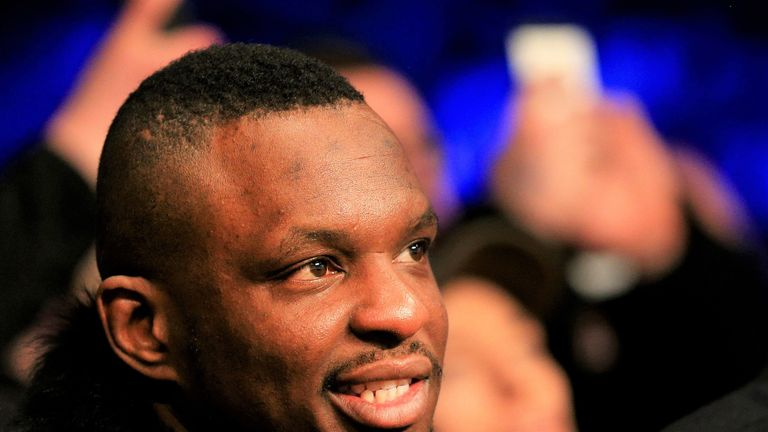 Dillian Whyte is keeping a close eye on Deontay Wilder this weekend