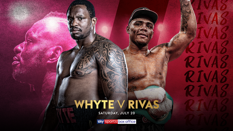 Dillian Whyte, Oscar Rivas ****DO NOT USE STRICT EMBARGO***