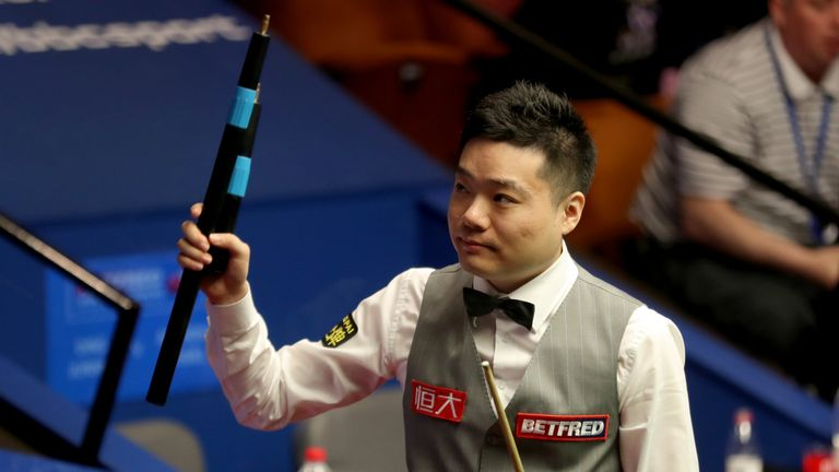 Ding Junhui is also through after a 10-7 victory over Anthony McGill
