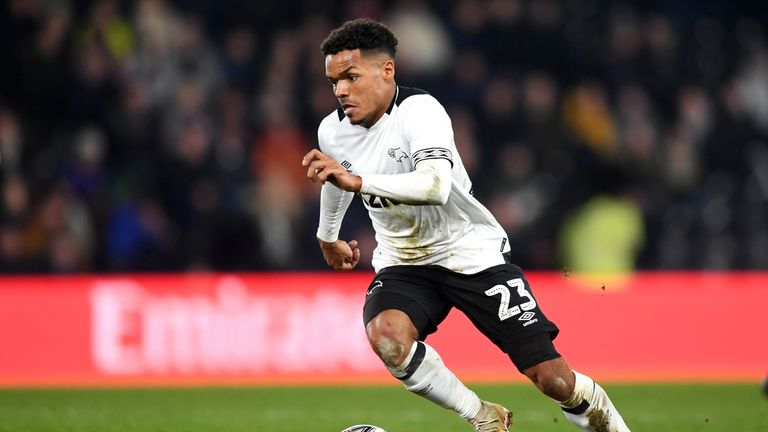 Holmes complained of being racially abused in the dugout during Derby's 3-3 draw with Brentford