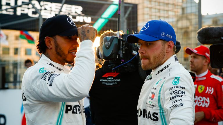 Lewis Hamilton and Valtteri Bottas have dominated the start of this year's championship