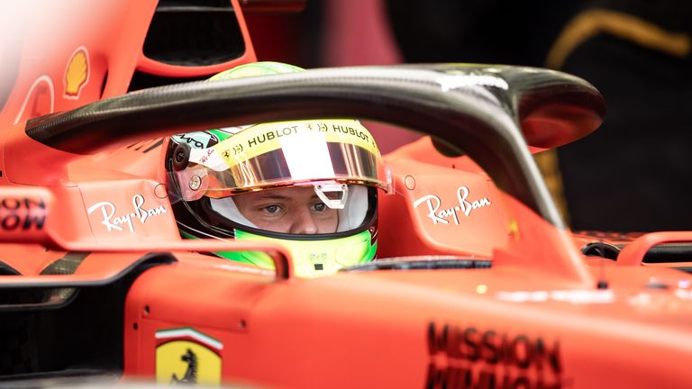 Mick Schumacher 2nd fastest in F1 test debut for Ferrari