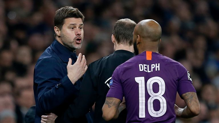 Fabian Delph's tackle on Harry Kane provoked an angry reaction