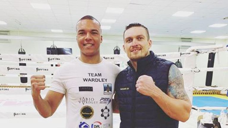 Fabio Wardley, Oleksandr Usyk