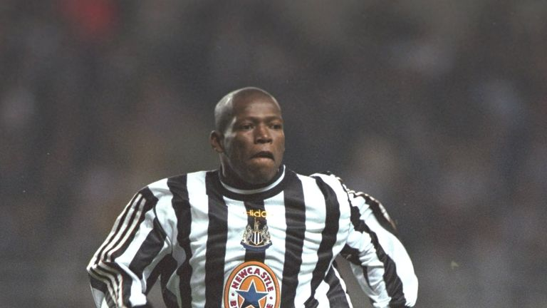Faustino Asprilla signed for Newcastle in 1996 amid huge fanfare