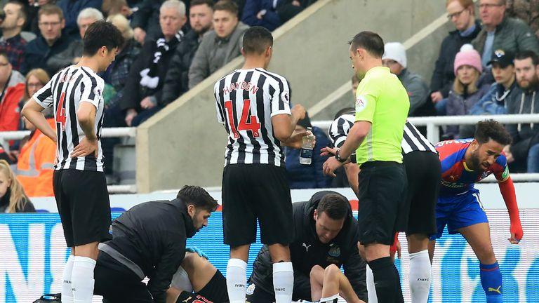 Florian Lejeune injured his knee