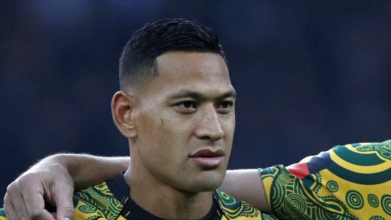 Israel Folau, despite provoking outrage, has persisted with inflammatory remarks on social media over the last two years