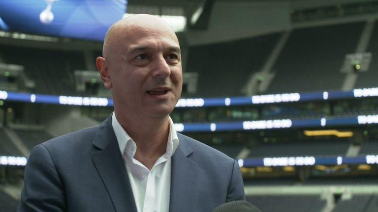 Spurs chairman Daniel Levy
