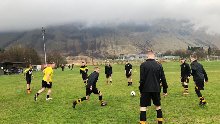 It was a lively afternoon in the Highland League at Fort William