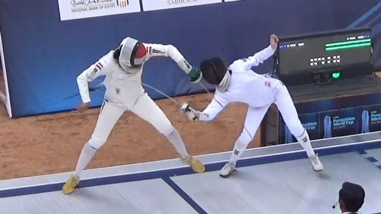 Francesca Summers at Modern Pentathlon World Cup