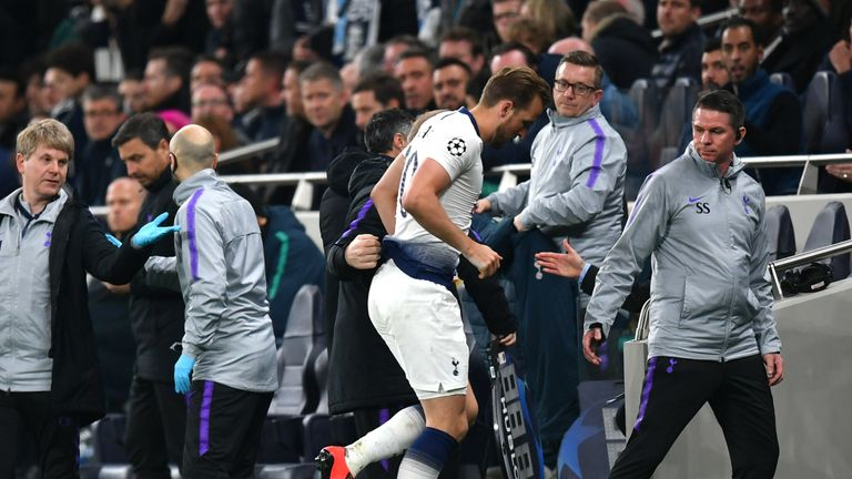 Kane may have limped off against Manchester City but it's not the end of their Champions League hopes