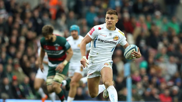 Henry Slade's 65-minute performance was head-turning