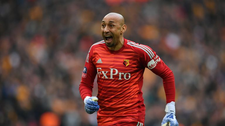 Gomes has made over 150 appearances for Watford since joining the club in 2014