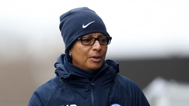 Hope Powell, Brighton Women's manager