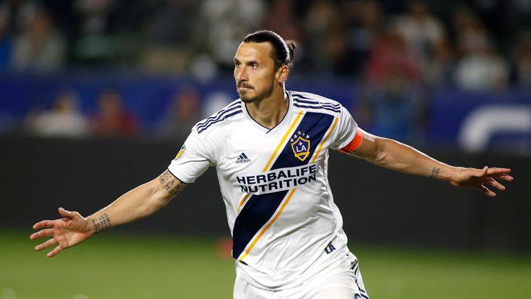 Zlatan Ibrahimovic fires LA Galaxy to victory over Minnesota United