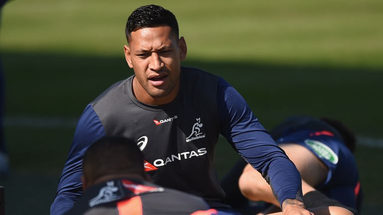Rugby Australia has announced it plans to terminate Israel Folau's contract following his anti-LGBT comments on social media.