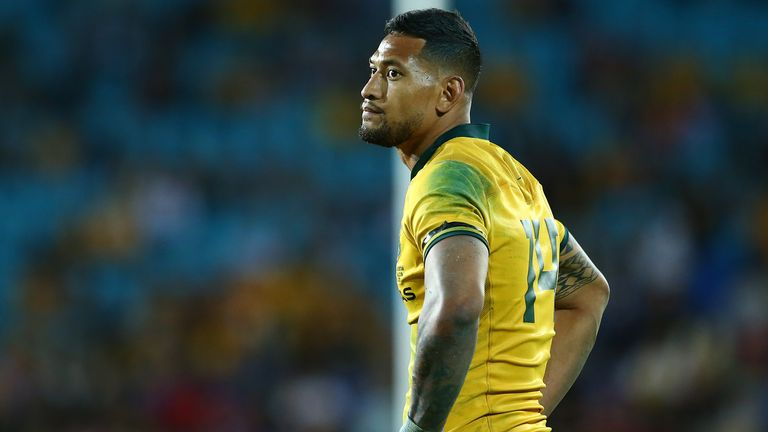 Israel Folau's international career is over after having his contract terminated with Australia