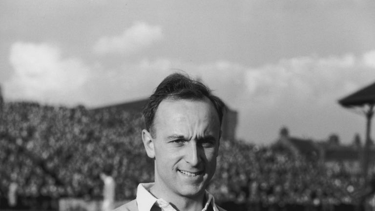 Ivor Broadis scored eight goals for England during the 1950s