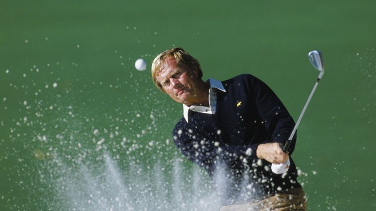 Jack Nicklaus finished in the top 10 in all but five major championships in the 1970s