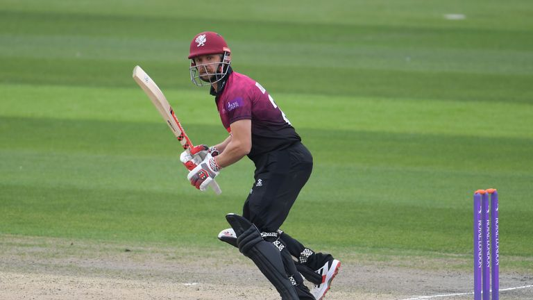 James Hildreth scored 93 for Somerset in their win over Surrey
