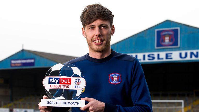 Jamie Devitt won the League Two award