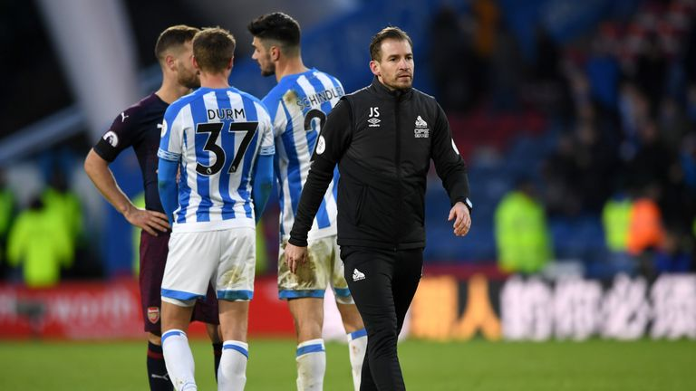 Jan Siewert says he is still learning about his Huddersfield players