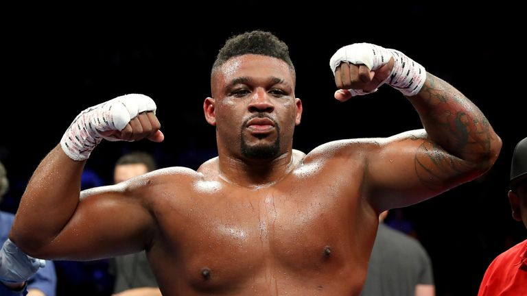 Jarrell Miller is due to fight Anthony Joshua on June 1