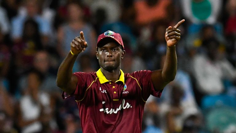 Holder will captain the Windies at this summer's World Cup