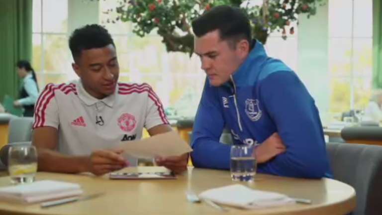 Jesse Lingard and Michael Keane reminisce about their time as youth players at Manchester United