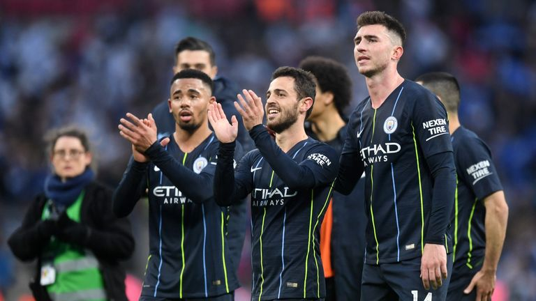 Manchester City sit two points behind Premier League leaders Liverpool, but have a game in hand on Jurgen Klopp's side