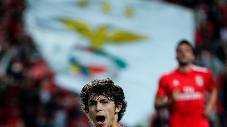 Joao Felix has enjoyed a stunning breakthrough season for Benfica