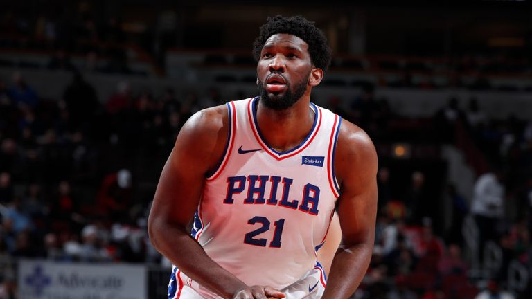 Joel Embiid might not be ready to play at the start of the postseason, according to Elton Brand