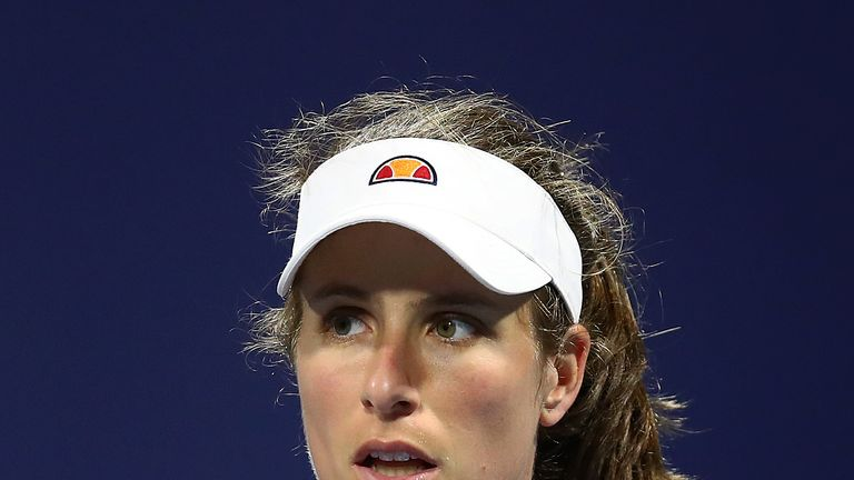 Johanna Konta reaches first clay-court final at Morocco Open in Rabat