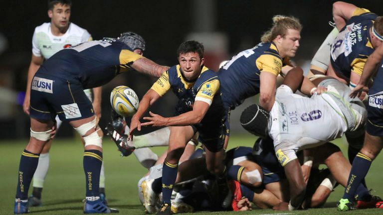 Jonny Arr is leaving Worcester Warriors after 23 years at the club