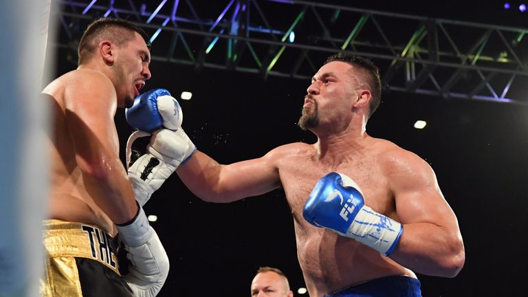 Parker is coming off a knockout victory in New Zealand