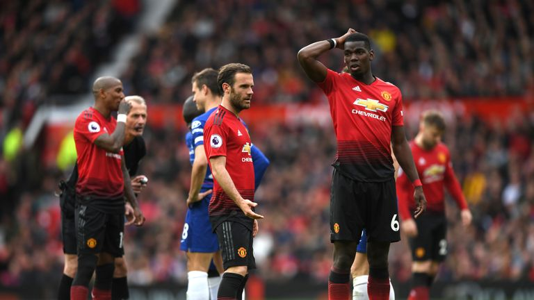 Mata says Pogba is a positive influence in the Man Utd  changing room