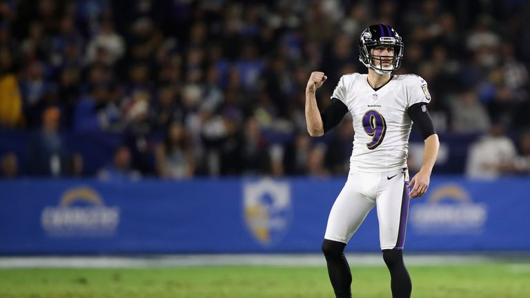 watch 1cf51 946f4 Baltimore Ravens sign kicker Justin Tucker to record ...