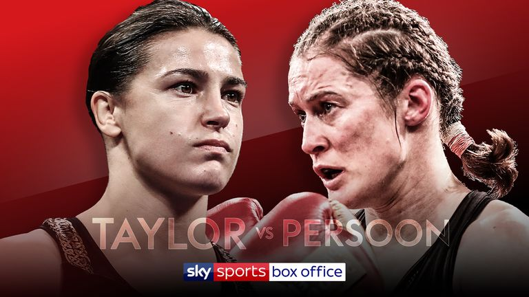 Katie Taylor also battles Delfine Persoon for all the world lightweight titles on the Madison Square Garden bill