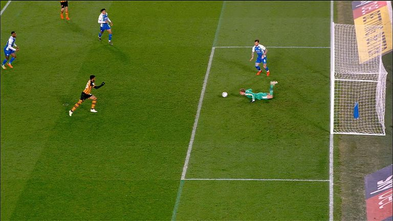 Hull 2-1 Wigan keeper